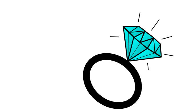 600x376 Diamond Ring Clip Art