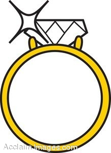 218x300 Diamond Ring Clip Art