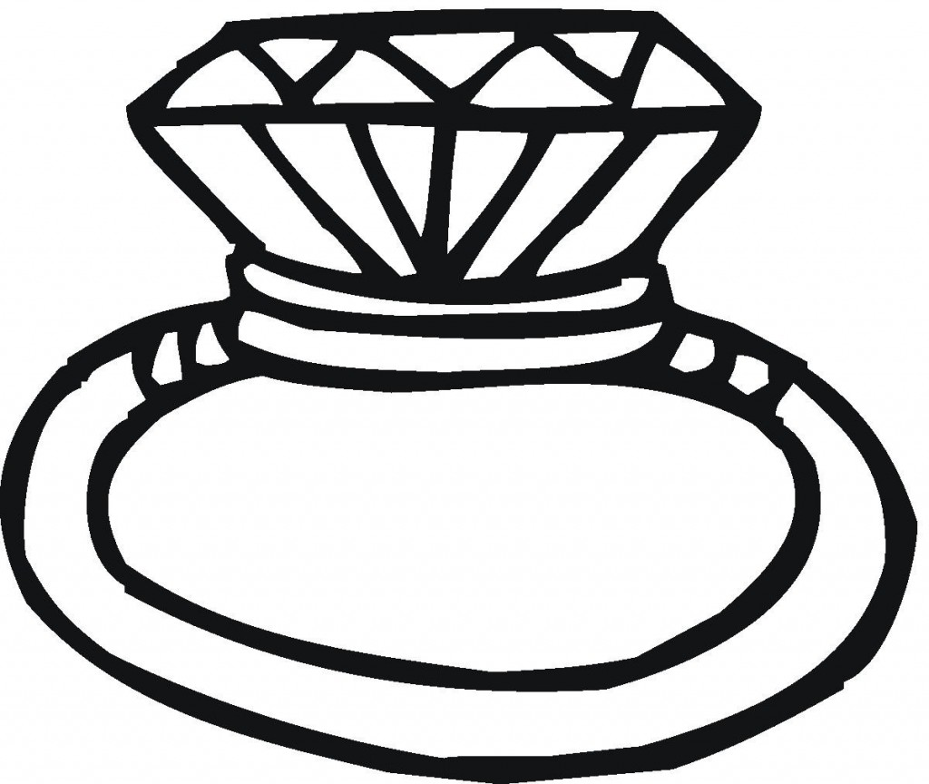 1024x864 Engagement Ring Clipart