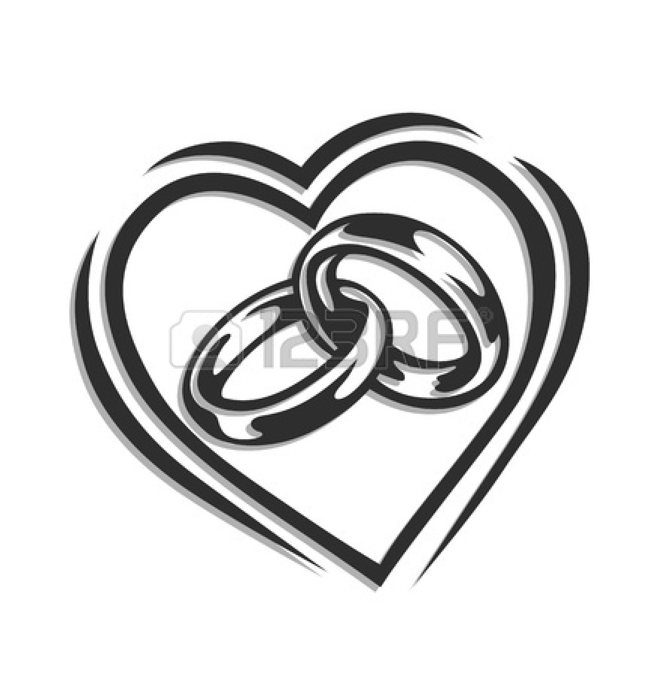 1320x1350 Silver Wedding Rings Clipart Amp Silver Wedding Rings Clip Art