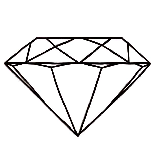 600x600 Diamond Shape Coloring Pages Nice Coloring Pages For Kids