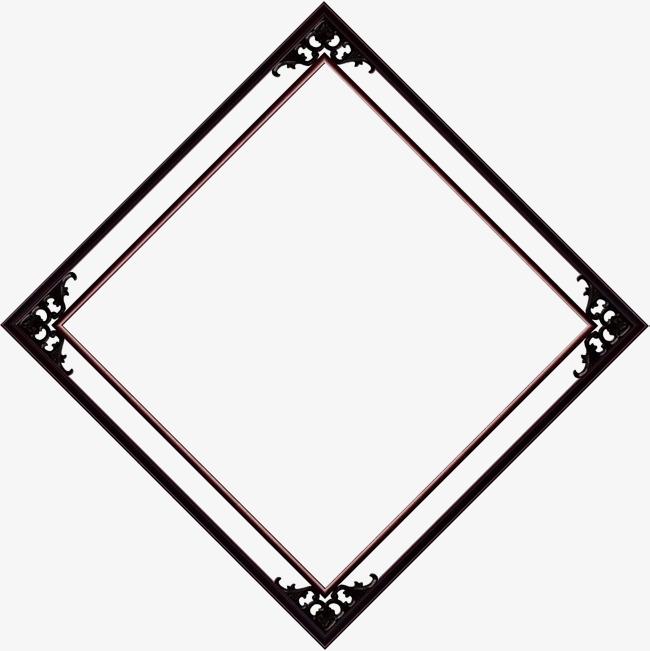 650x651 Diamond Border, Shape, Diamond, Book Frame Png And Vector For Free
