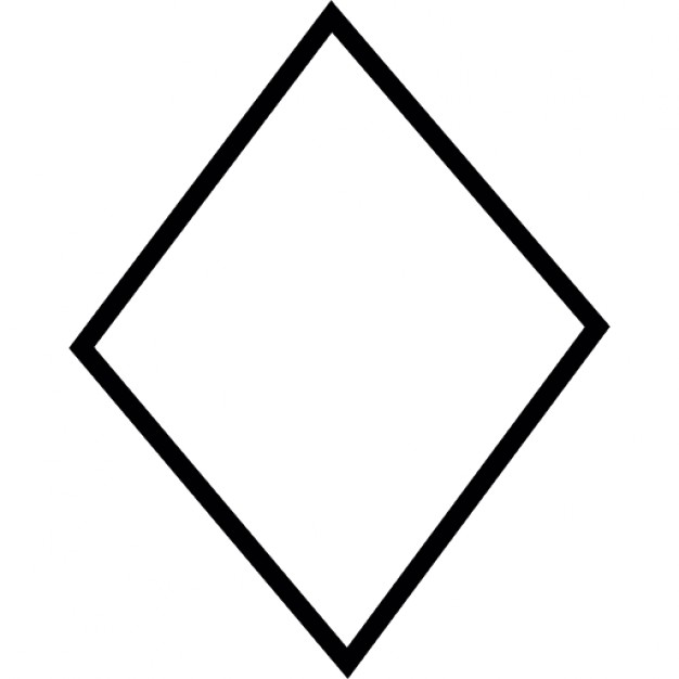 626x626 Diamond Shape, Ios 7 Interface Symbol Icons Free Download