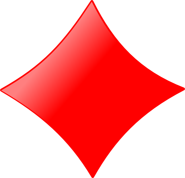 600x578 Free Diamond Shape Clipart Image