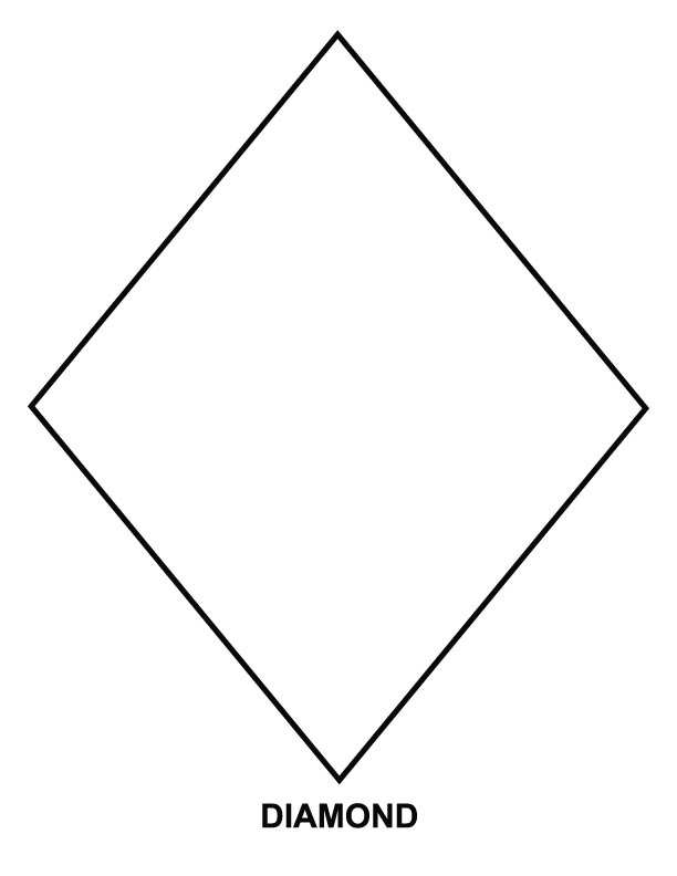 612x792 Diamond Coloring Page Download Free Diamond Coloring Page