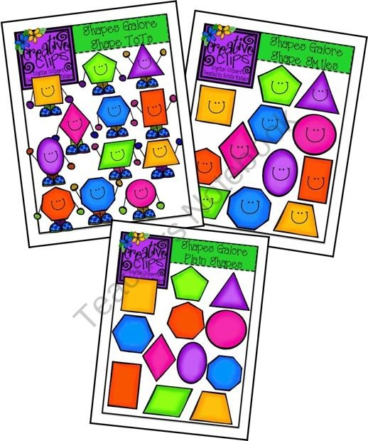 Diamond Shapes Clipart
