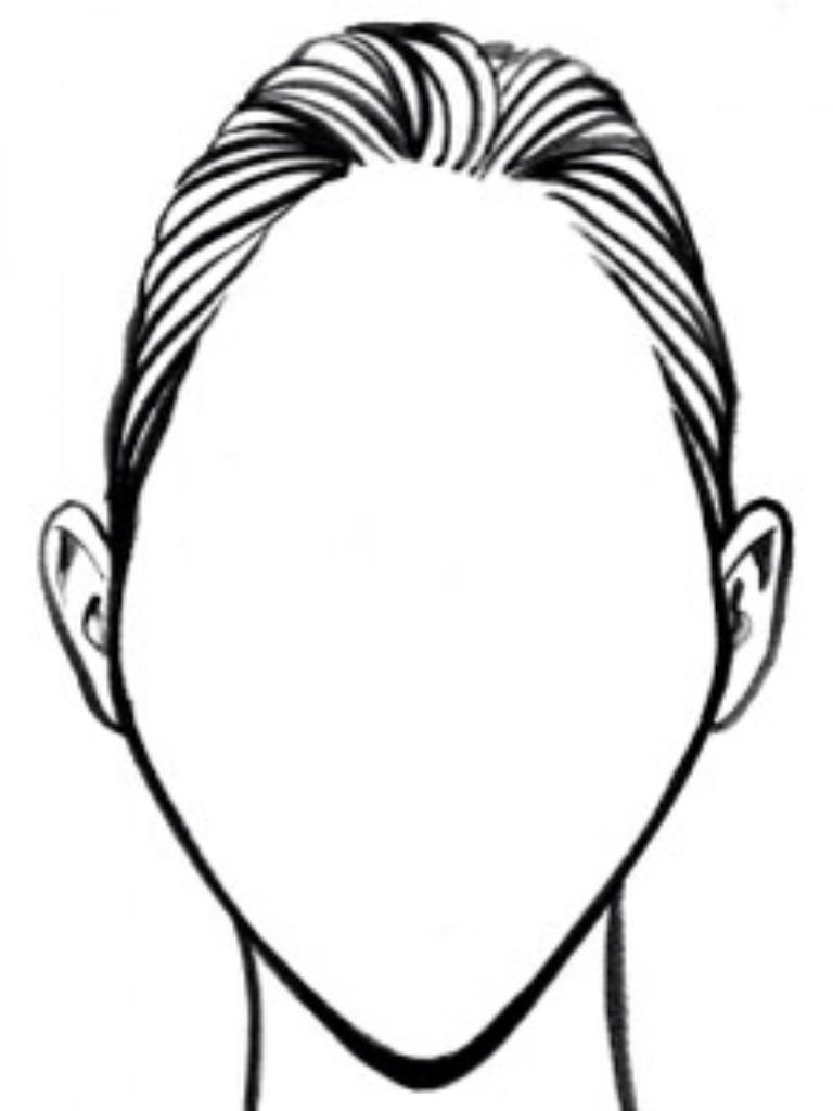 768x1024 Diamond Face Shape Face Shape Face Shapes, Diamond