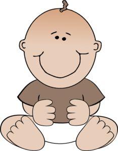 234x299 Cartoon Baby Boy Baby Boy Crawling Clip Art