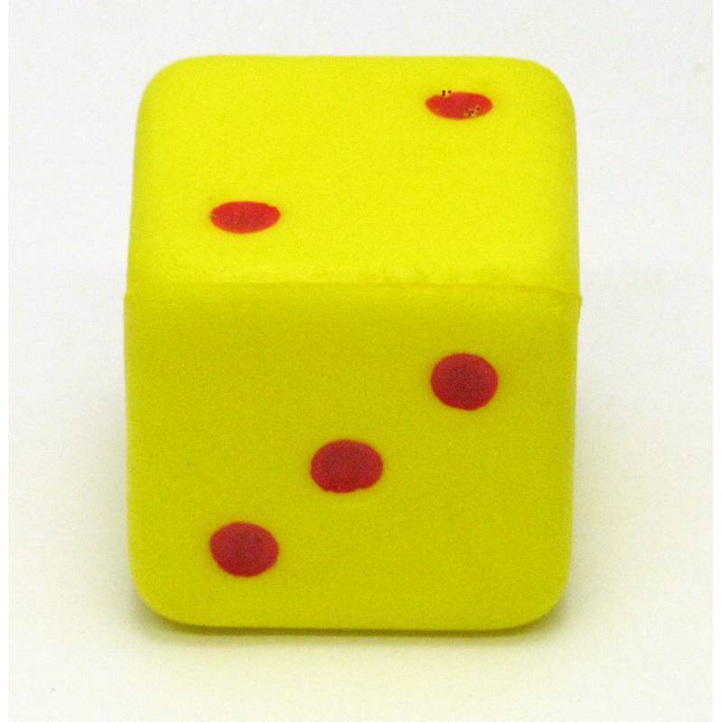 800x800 Large Yellowred Spotted Dice (1 6)