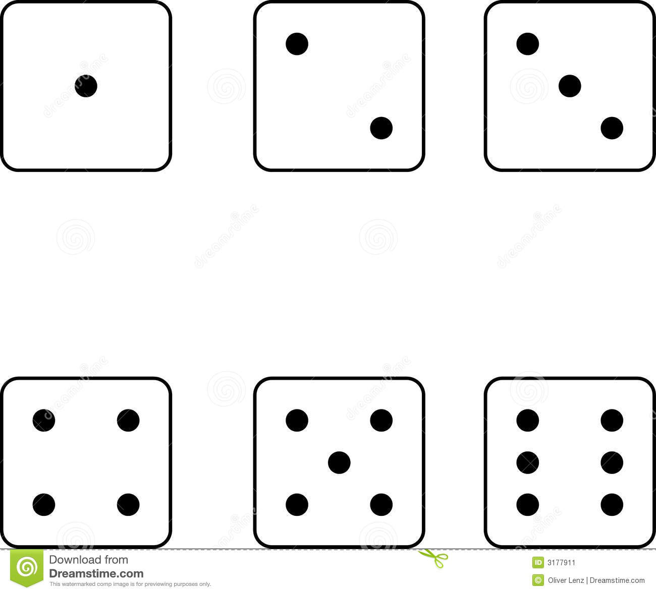 1300x1178 Clip Art Of Numbers On A Die Clipart