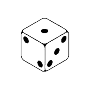 300x300 1 Dice Clipart Free Images 3