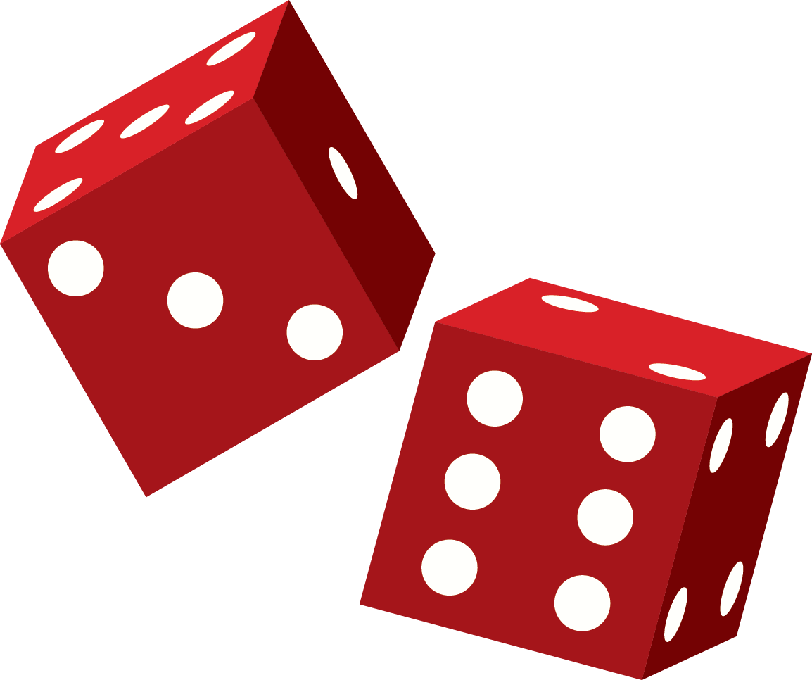 1154x966 Dice Clipart Red