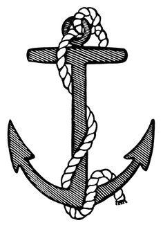 236x325 Anchor Clip Art Black And White