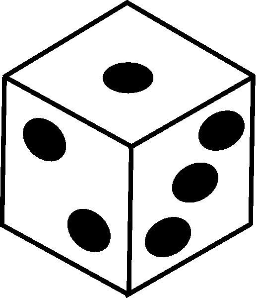 516x599 Dice Clip Art