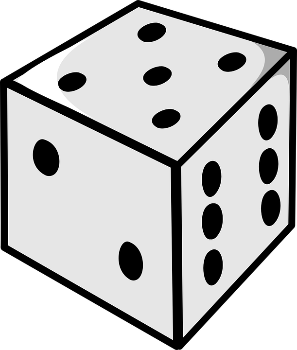 611x720 Dice Clipart Number Five