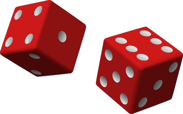 594x371 Two Red Dice Clip Art Free Vector In Open Office Drawing Svg