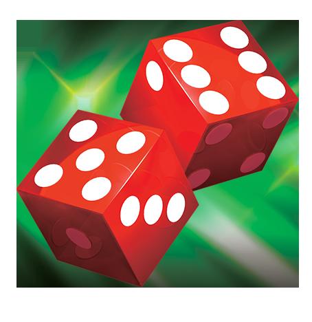 454x468 Red Dice Wild