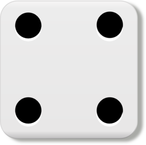 297x294 Dice Clipart One