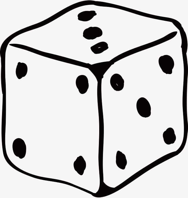 650x687 Hand Drawn Dice, Hand Painted Various Products, Model Daquan Png