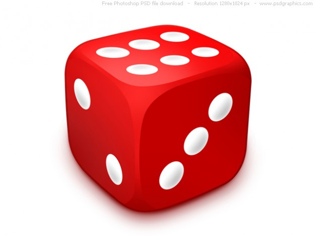 626x470 Psd Red Dice Icon Psd File Free Download