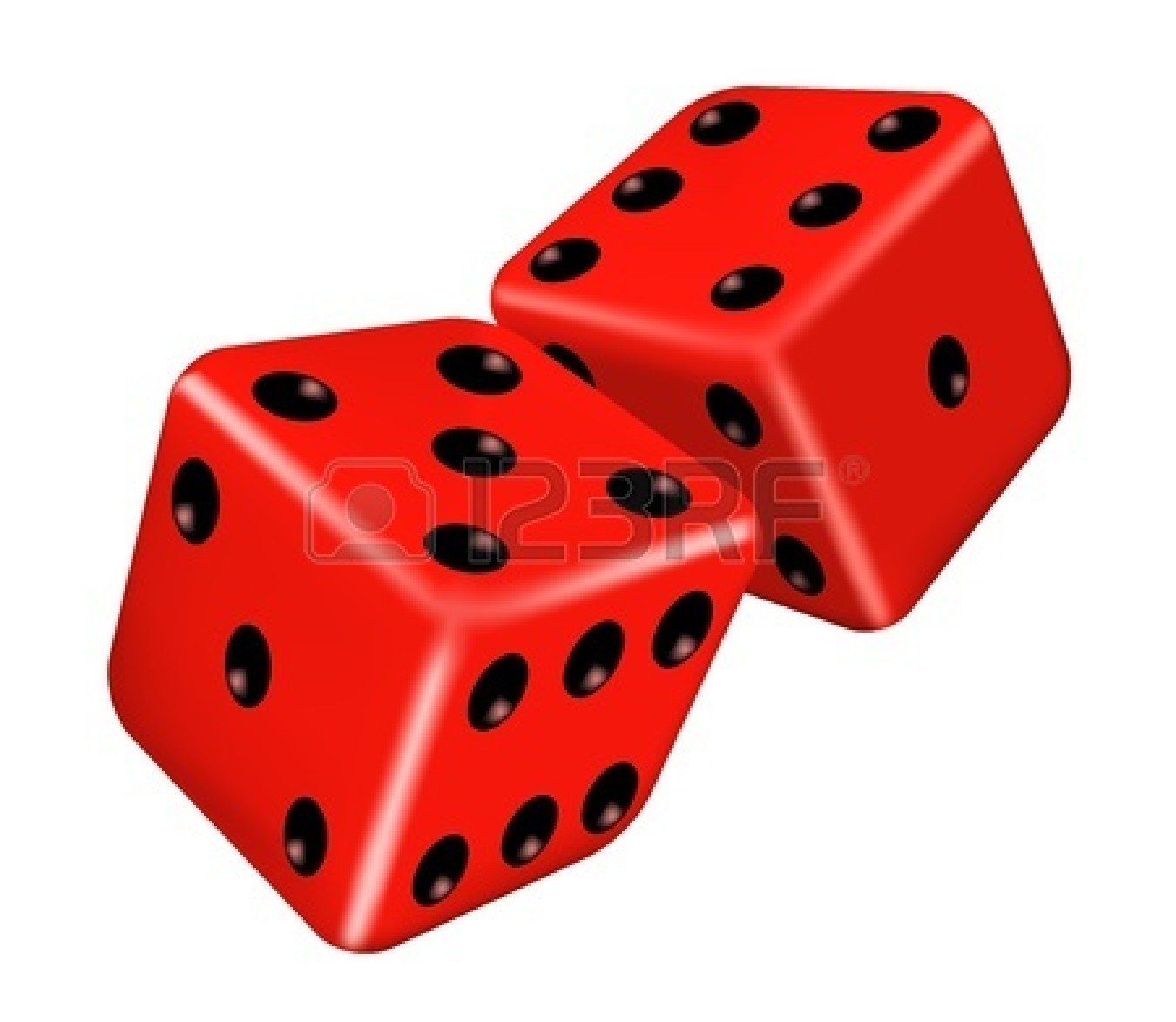 1350x1173 Red Dice Clipart