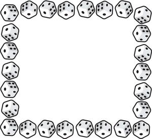 300x274 Dice Clip Art
