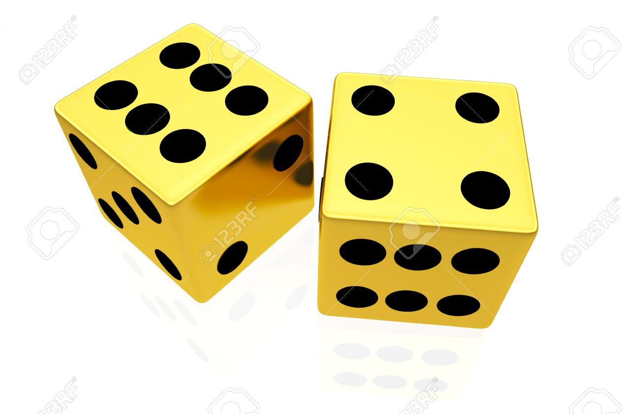 1300x841 Dice Clipart Gold