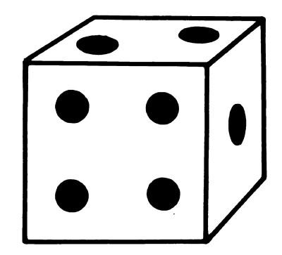 400x363 Squares Clipart Dice