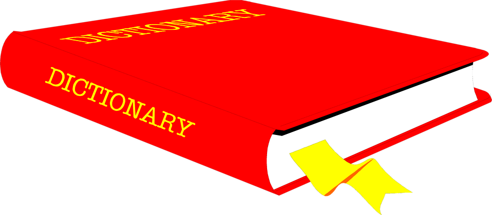 958x419 Book Free Stock Photo Illustration of a dictionary