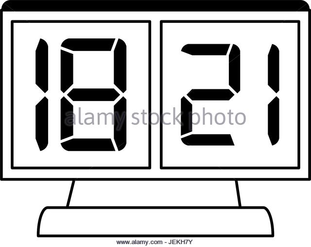 Collection of Digital clock clipart | Free download best