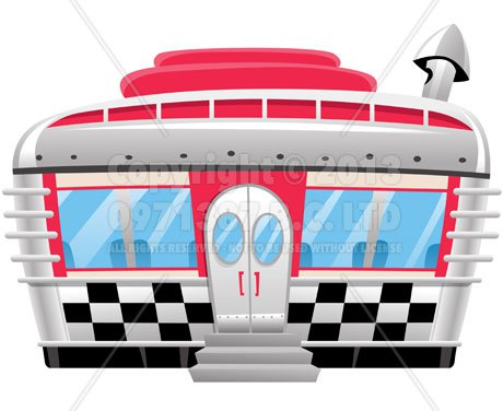 460x376 Images Of Retro Diners Stock Cartoon Retro Diner Coffee Shops