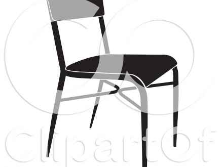 440x330 Dining Table Clipart Black And White Furniture Clipart Furniture