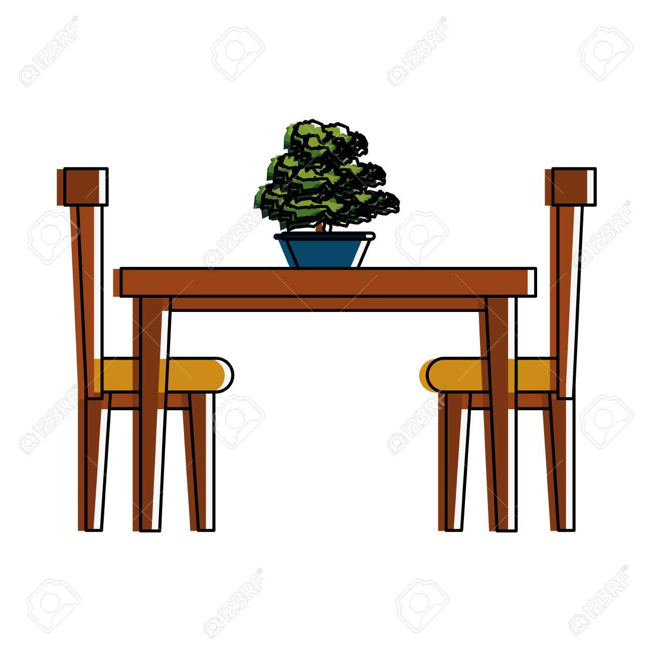 Dining Table Clip Art ~ Dining table clipart free download best