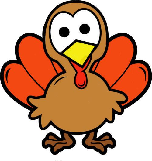 500x530 First Thanksgiving Dinner Clipart