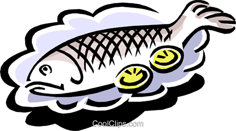 480x267 Fish Dinner Clipart