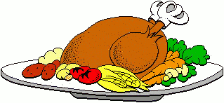 319x147 Free Turkey Dinner Clipart, 1 Page Of Public Domain Clip Art