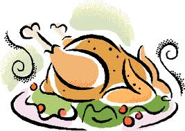 267x189 Thanksgiving Dinner Table Clipart