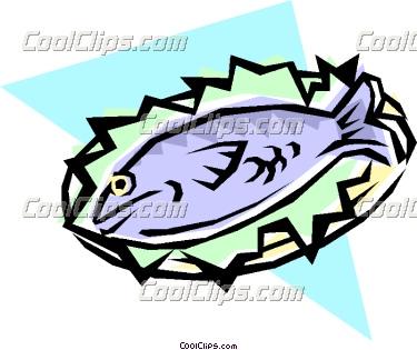 375x315 Tuna Clipart Fish Dinner