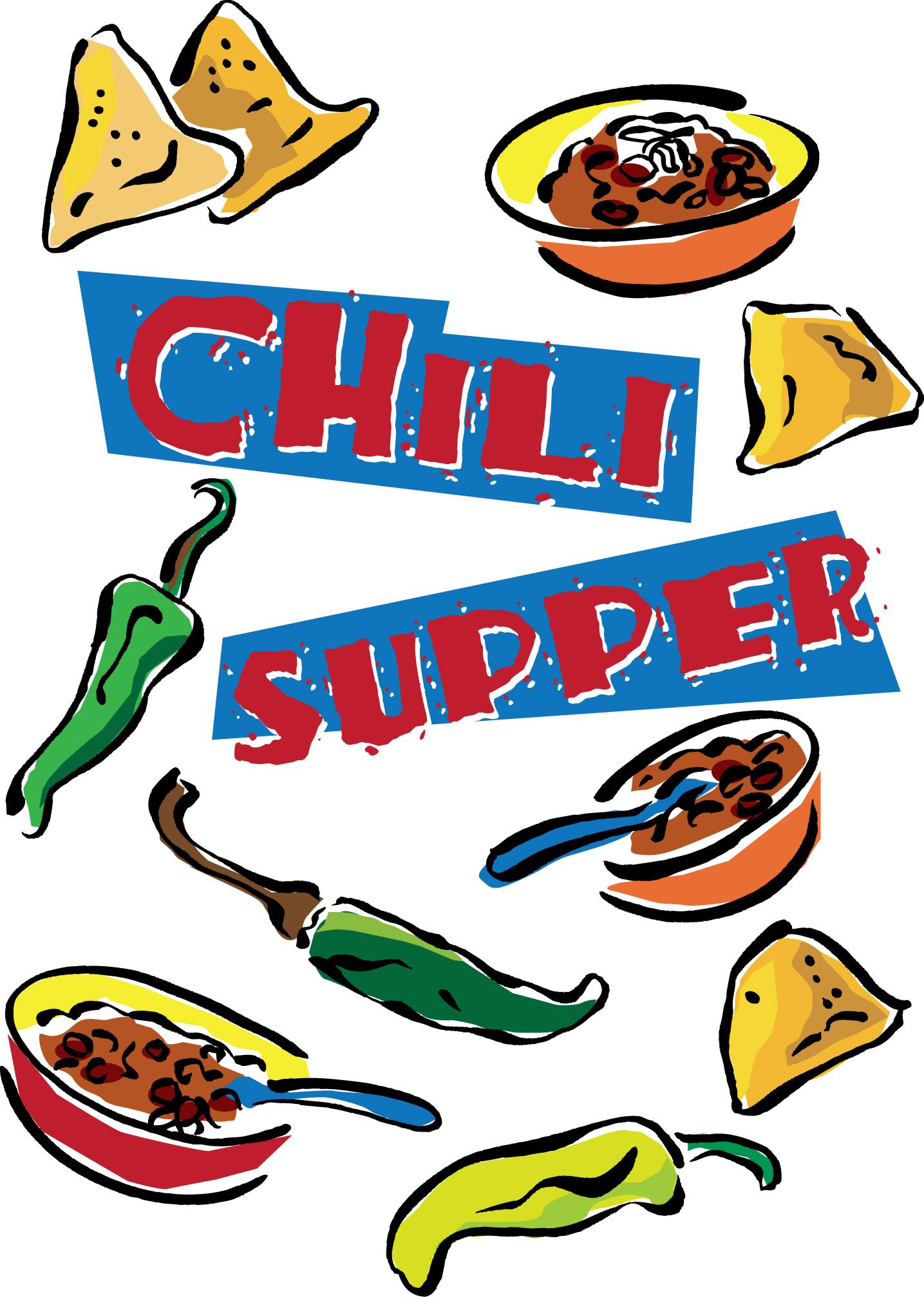 1435x2015 Chili Dinner Clip Art