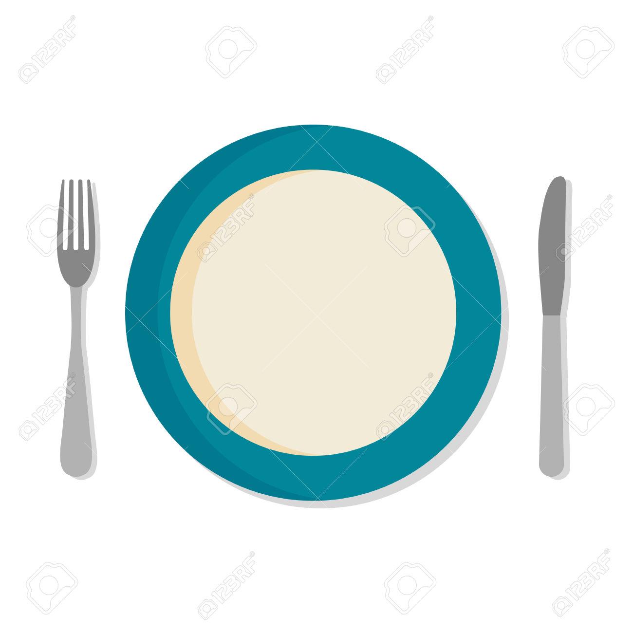 1300x1300 Plate Clipart Dinner Set