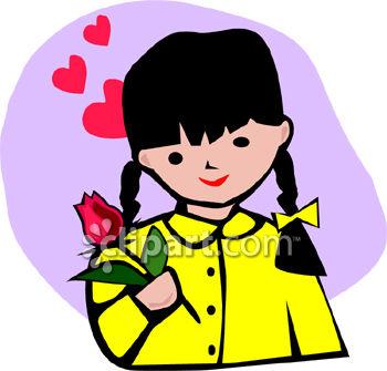 350x335 Little Girl Clip Art 0060 0808 0417