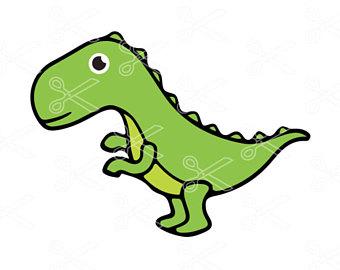 340x270 Dinosaur Vector Etsy
