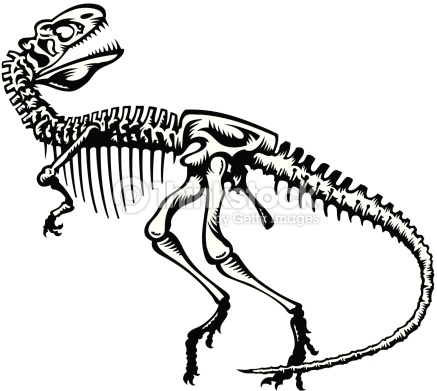 437x391 Fossil Clipart Dino