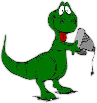 313x334 Free Dinosaur Animations