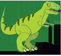 200x183 Tyrannosaurus Rex Clipart Dinasour