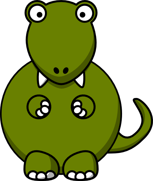 504x595 Cute And Nervous Dino Dinosaur Coolness