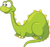 170x160 Dino Cartoon Clip Art