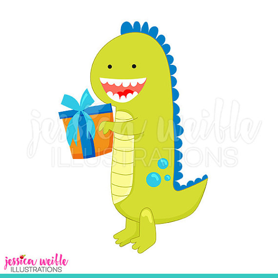 570x570 Birthday Dinosaur Cute Digital Clipart, Dinosaur Clip art