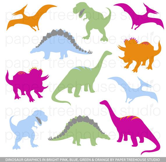 570x555 Dinosaur Clip Art. TRex Clipart. Stegosaurus Clipart.