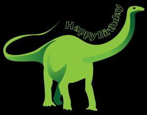 300x236 Dinosaur clipart happy birthday